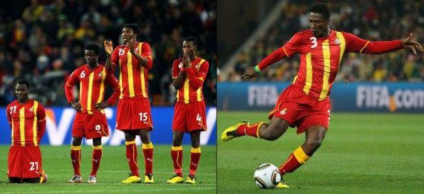 Seconda maglia Ghana 2010