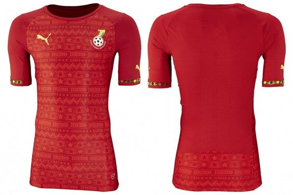Seconda maglia Ghana 2014