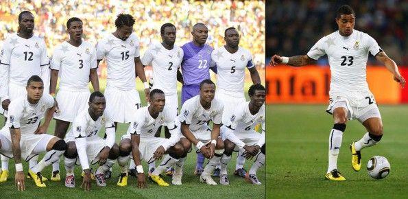 Kit Ghana home 2010 Mondiali