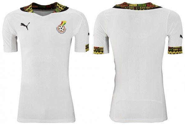 Maglia Ghana Mondiali 2014