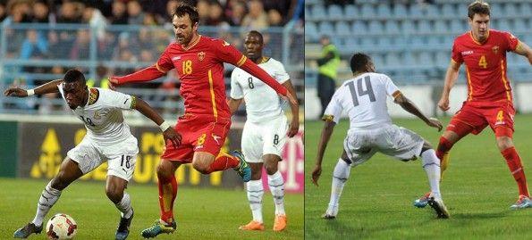 Ghana-Montenegro amichevole 2014