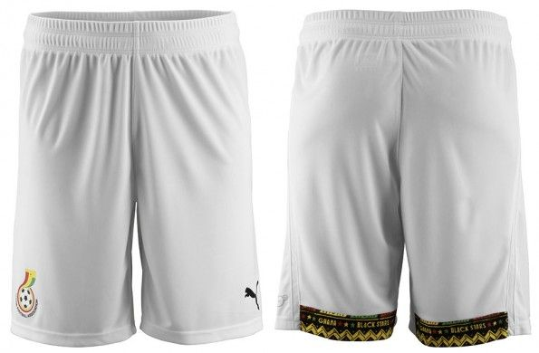Ghana pantaloncini home 2014