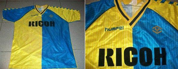 Terza maglia Hellas Verona 1987-88 Hummel
