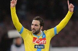 Higuain maglia gialla Napoli