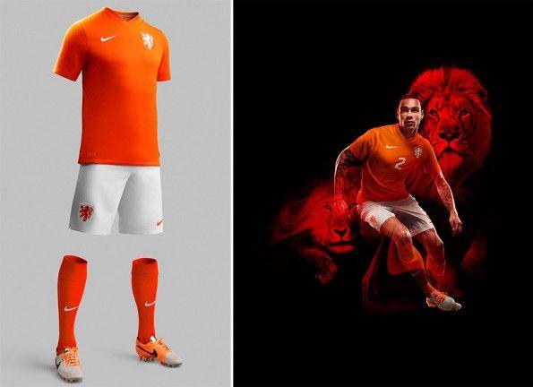 Kit home Olanda 2014 Nike