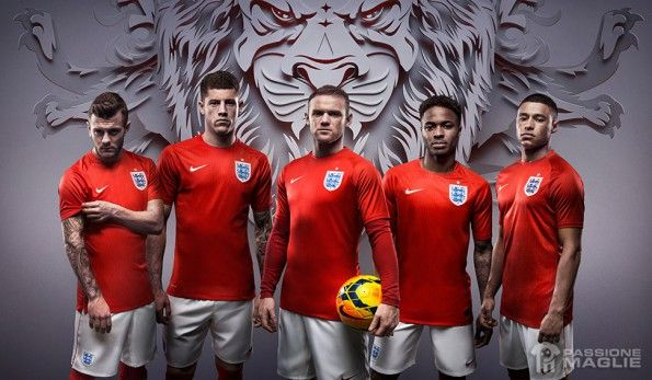Inghilterra divisa away Mondiali 2014