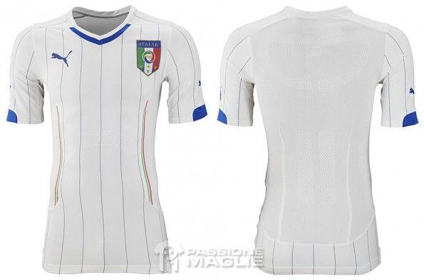 Seconda maglia Italia 2014 Puma
