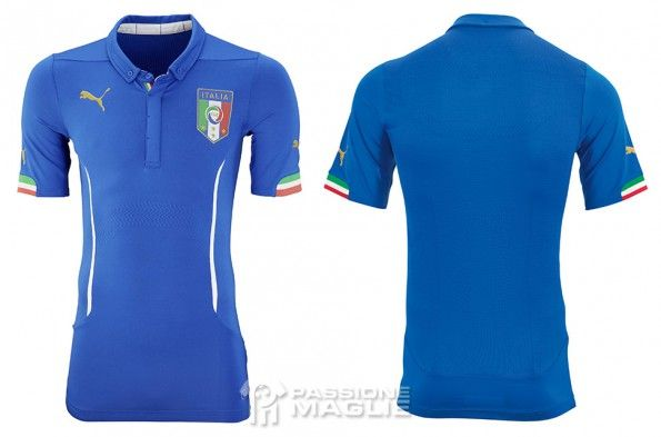 Maglia Italia Mondiali 2014 Puma