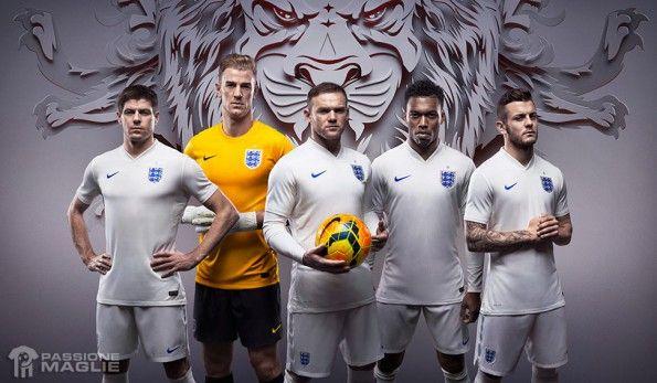 Kit Inghilterra home 2014