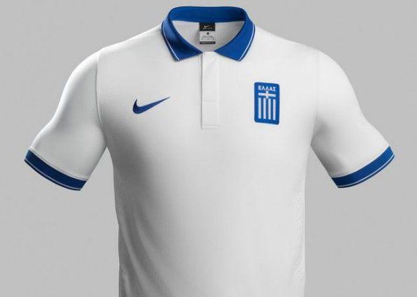 maglia Grecia 2014 Nike