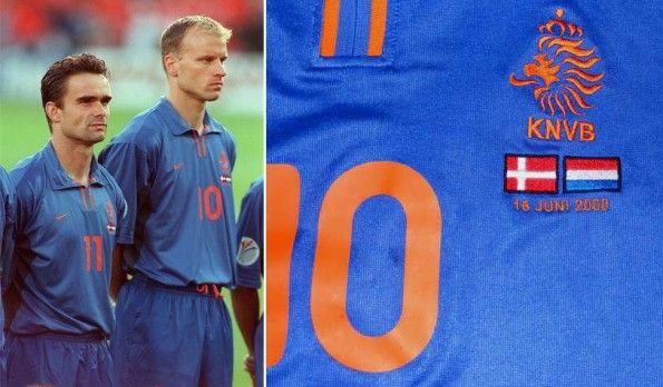 Maglia Olanda blu Euro 2000