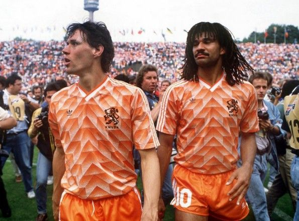 Maglia Olanda Campione d'Europa 1988