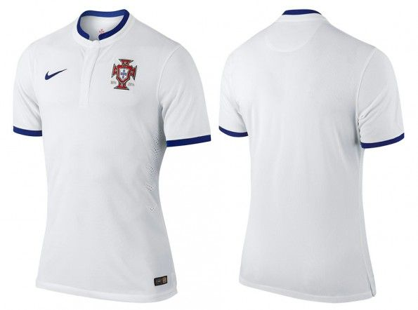 Maglia Portogallo away Mondiali 2014