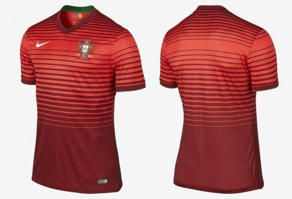 Maglia Portogallo home Mondiali 2014
