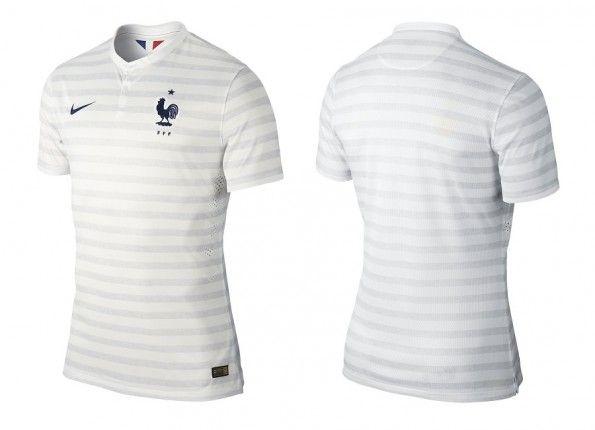 Seconda maglia Francia Mondiali 2014