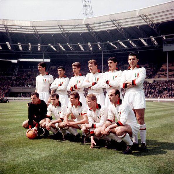 Milan, away 1962-1963, Coppa dei Campioni, Wembley