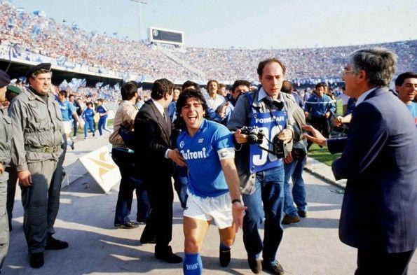 Napoli, anni '80, Stadio San Paolo, Maradona
