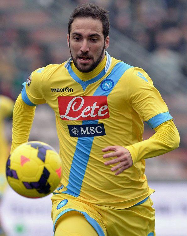 Napoli, third 2013-2014, Gonzalo Higuaín
