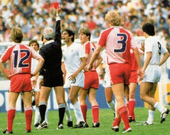 I numeri delle maglie Hummel della Danimarca al Mondiale 1986