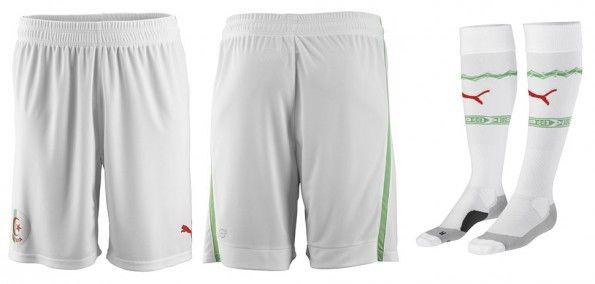 Pantaloncini calzettoni Algeria home 2014