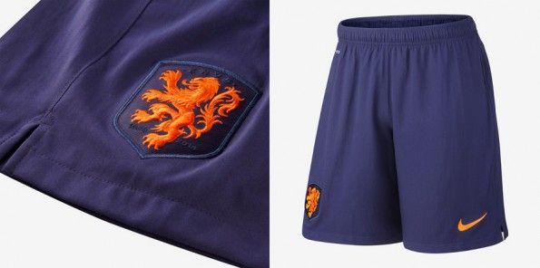 Pantaloncini divisa da trasferta Olanda Mondiale 2014