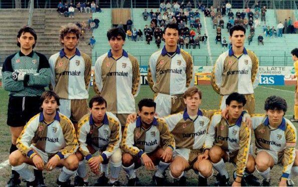 La Primavera del Parma al Viareggio 1988