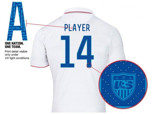 Font nome numeri Stati Uniti 2014