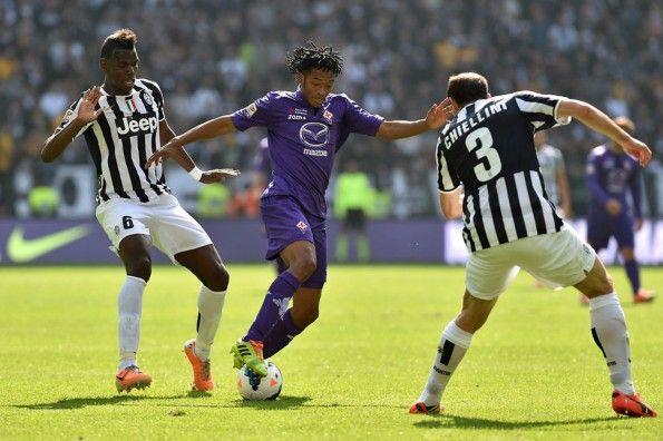 Fiorentina-Juventus, Serie A 2013-2014, Paul Pogba e Juan Cuadrado