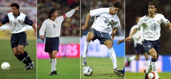 Storia maglie Portogallo bianco-blu Nike