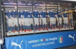 Presentazione maglia Italia Mondiali 2014
