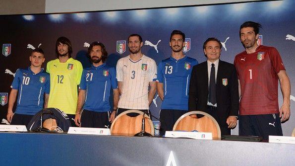 Divise Italia Mondiali 2014 Puma
