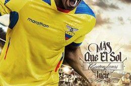 Promo maglia Ecuador home 2014