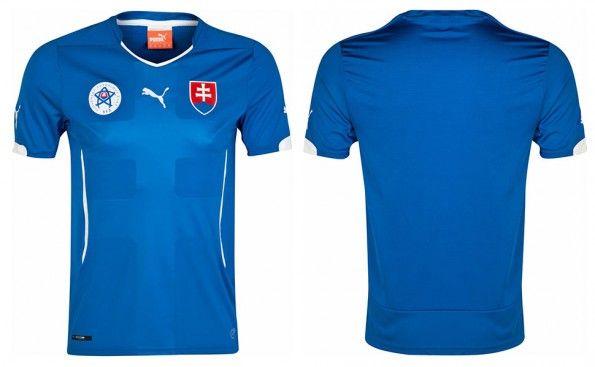 Seconda maglia Slovacchia 2014-16