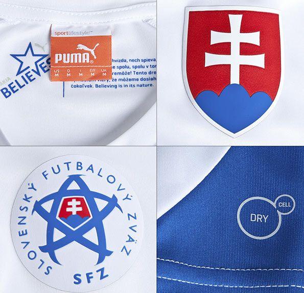 Dettagli Slovacchia maglia 2014-16