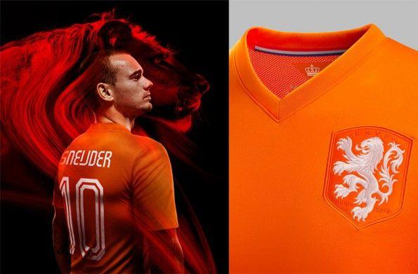 Sneijder Olanda home 2014