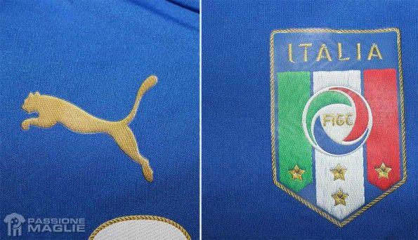 Logo Puma e FIGC Italia 2014