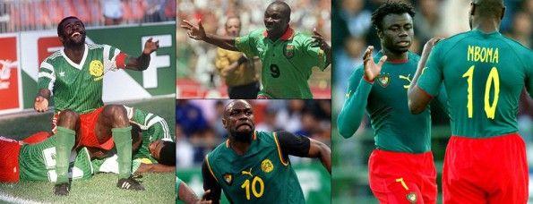 Storia maglie Camerun calcio