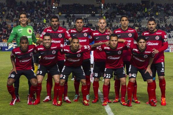 Club Tijuana 2014, maglia home, formazione