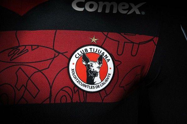 Club Tijuana 2014, maglia away, stemma
