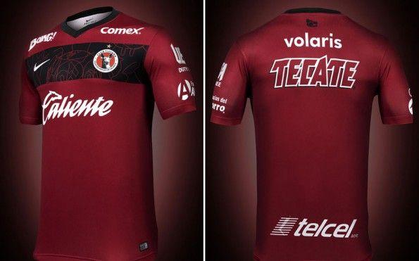 Club Tijuana 2014, maglia home, fronte-retro