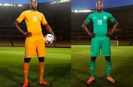 Ivory Coast kit 2014 World Cup