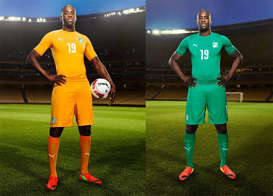 Ivory Coast kit 2014 World Cup