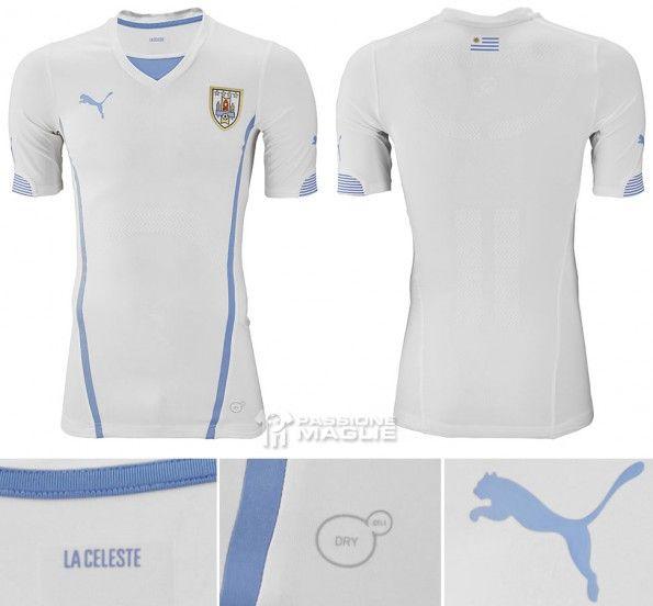 Seconda maglia Uruguay 2014