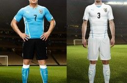 Kit Uruguay Mondiali 2014