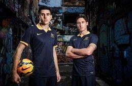 Australia away kit Mondiali 2014