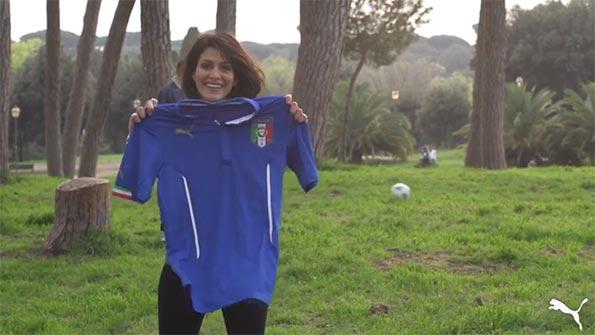 Giulia Bevilacqua con Puma