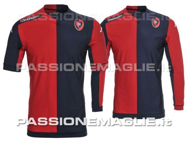 Cagliari anteprima maglia home 2014-15