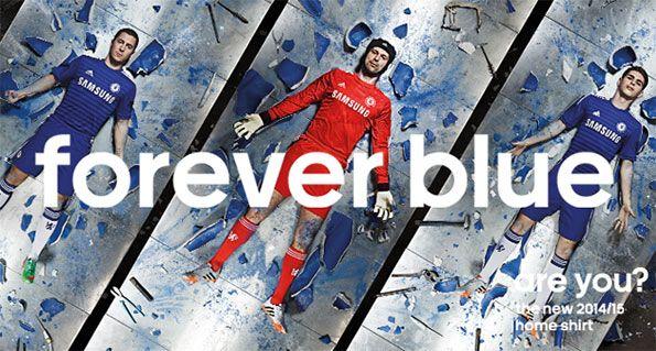 Chelsea kit 2014-15 Forever Blue