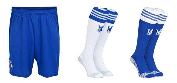 Chelsea pantaloncini calzettoni 2014-15
