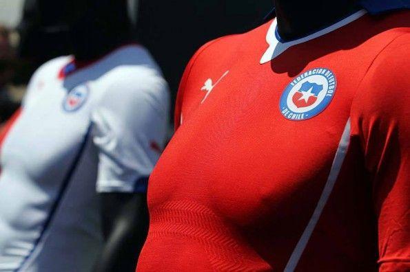 Kit Cile 2014 Puma Mondiali
